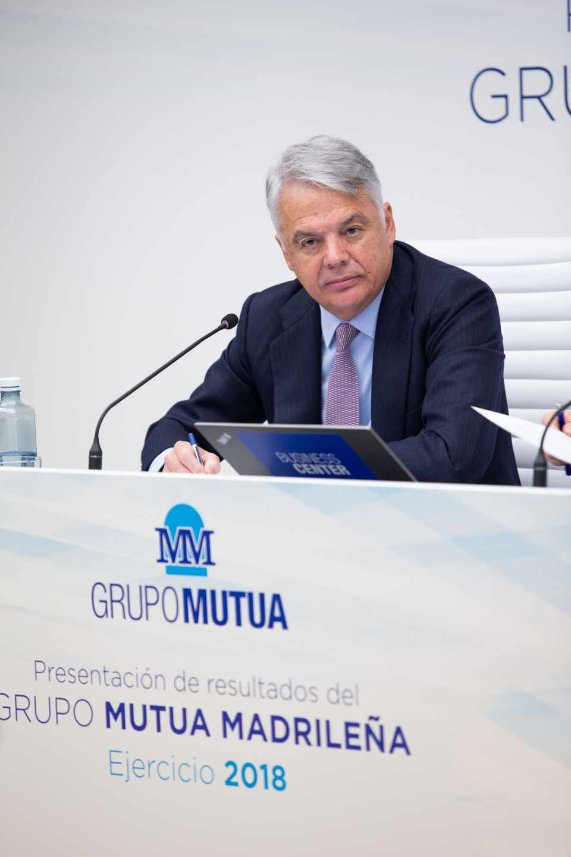 Ignacio Garralda, presidente Mutua Madrileña