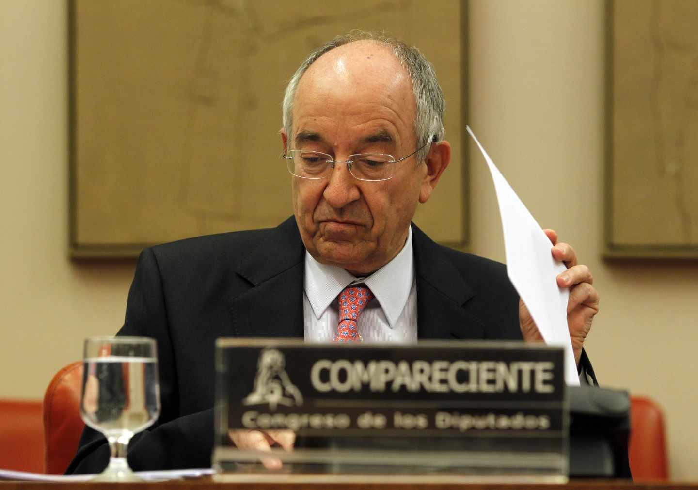 Miguel Ángel Fernández Ordóñez, exgobernador del Banco de España.