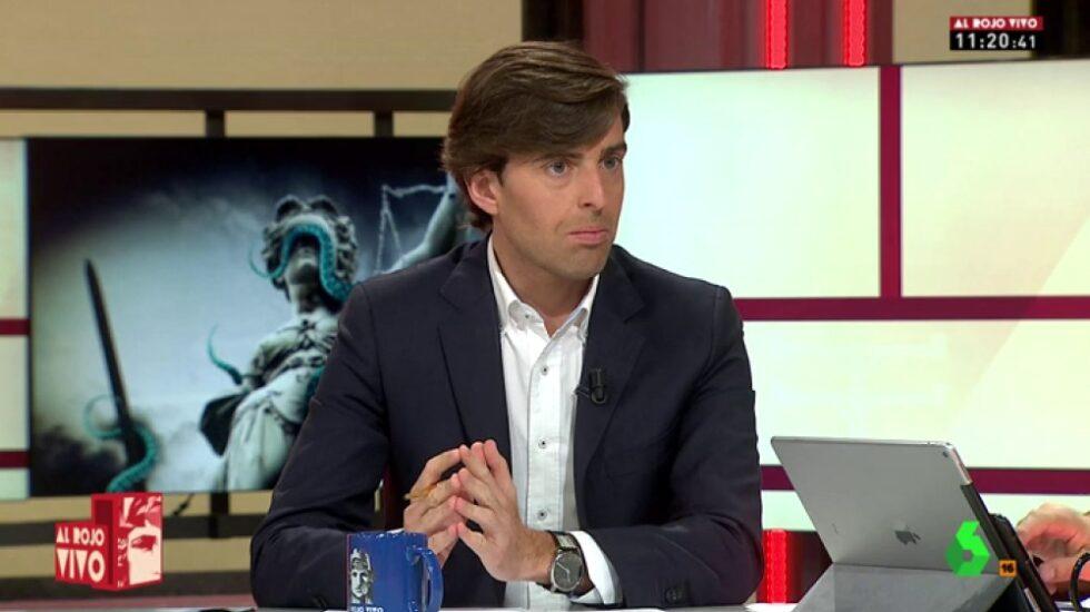 Pablo Montesinos, en La Sexta.