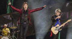 Los Rolling Stones, en concierto.