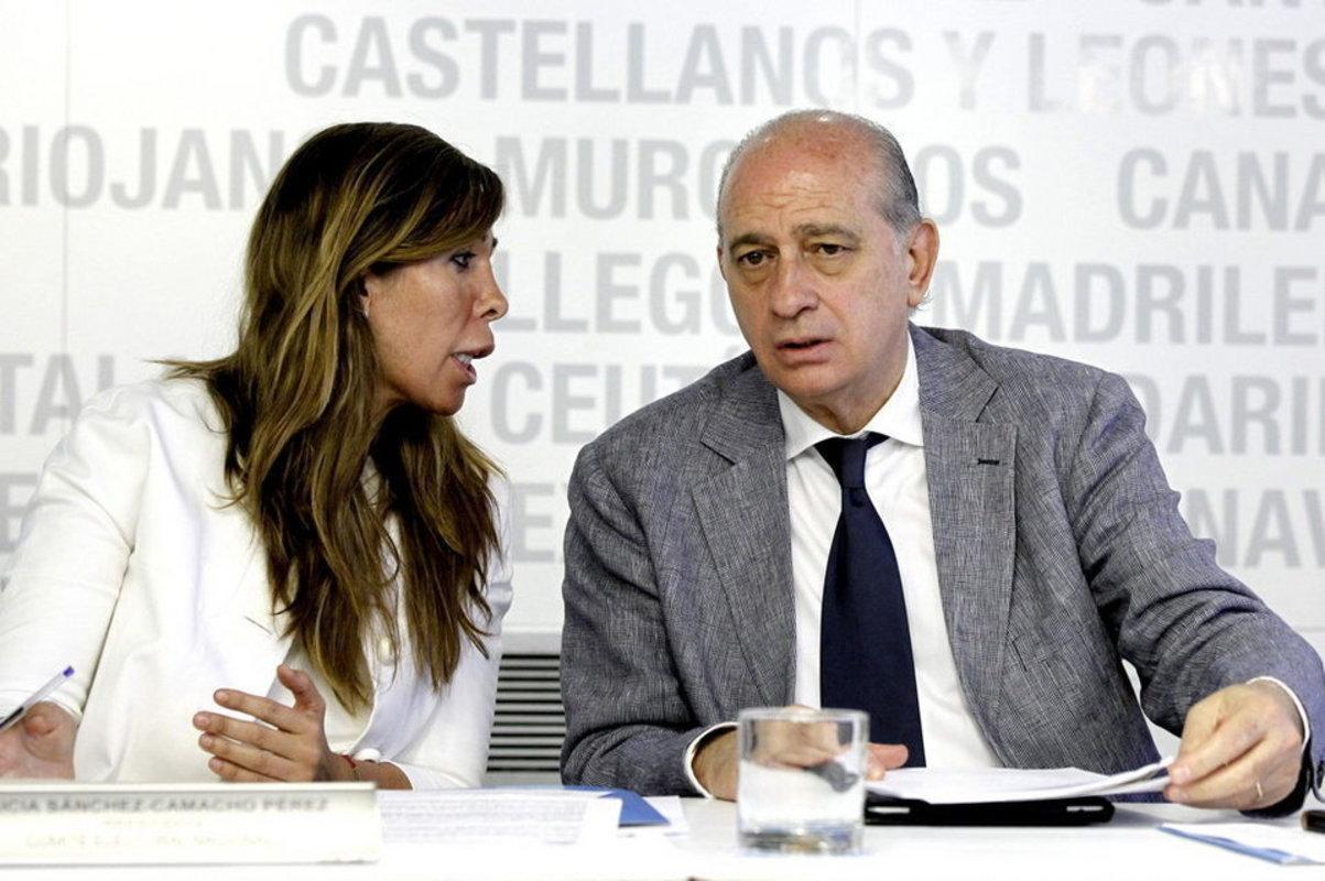 Sánchez Camacho y Fernández Díaz en una imagen de archivo