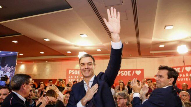 Pedro Sánchez, en un acto en Granada.