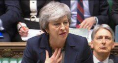 Theresa May comparece en el Parlamento británico.