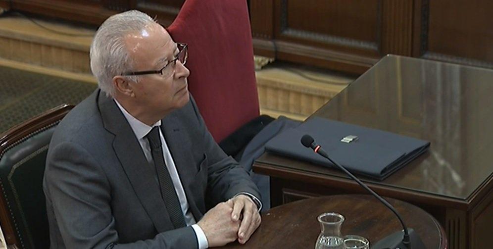 Sebastián Trapote, en el Supremo.