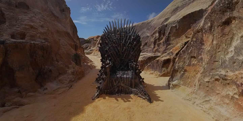 Uno de los tronos escondidos alrededor del mundo