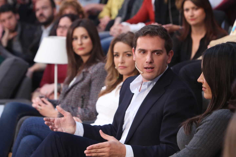 Albert Rivera, durante la presentación del decálogo 'Feminismo Liberal'