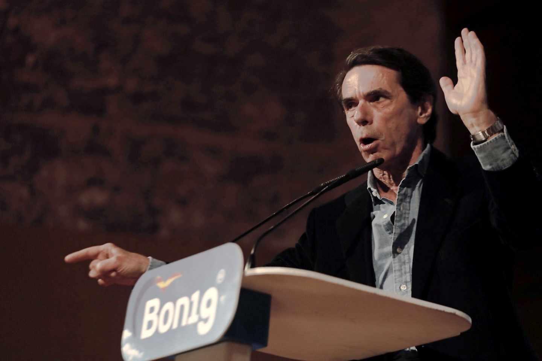 """Aznar entra en la campaña contra Vox: """"A mí no me aguantan la mirada"""""""