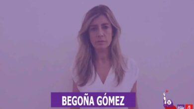 Begoña Gómez, la mujer de Pedro Sánchez, llama a movilizarse el 8M en un vídeo del PSOE