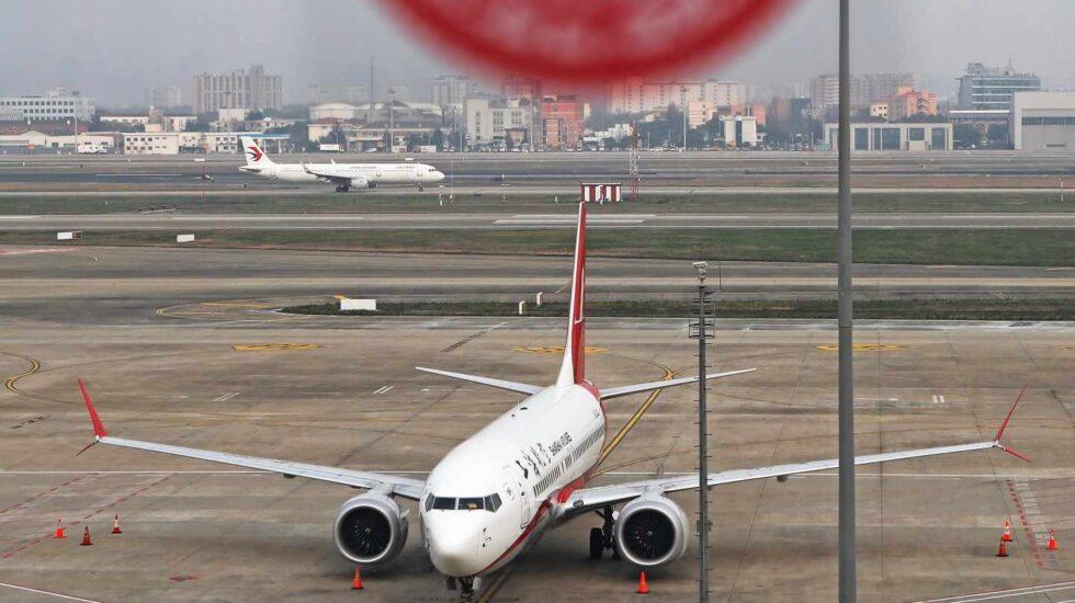Un Boeing 737 MAX-8, el modelo en cuestión tras dos accidentes en cinco meses.