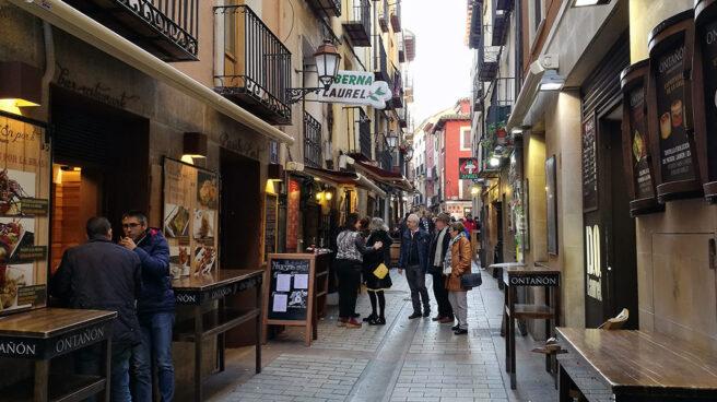 Algunos bares y restaurante de la calle Laurel