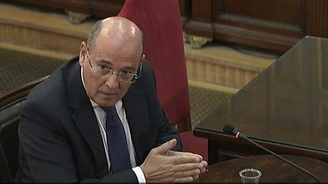 Diego Pérez de los Cobos, cuando declaró como testigo en el juicio del 1-O.