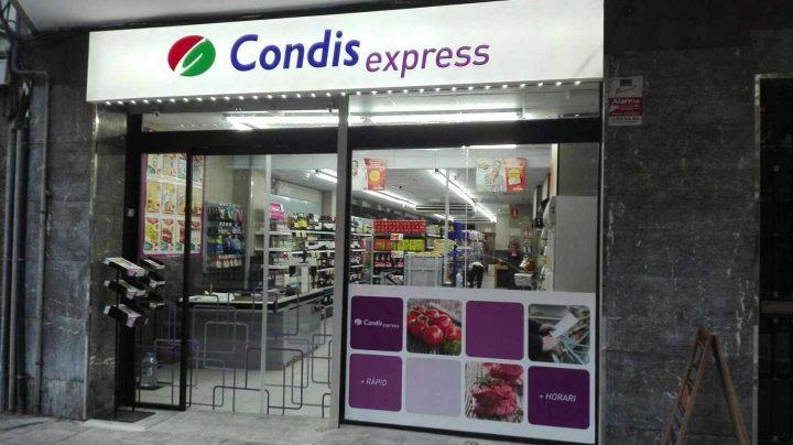 Tienda del Grupo Condis.