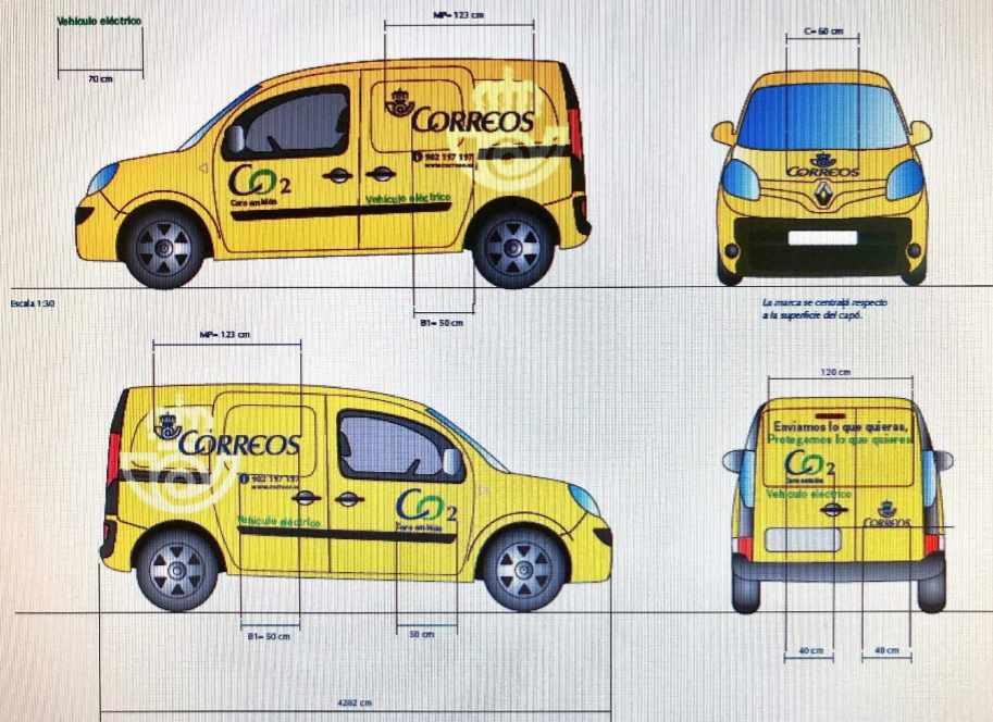 Logotipos y anagramas que tendrán que exhibir los vehículos a suministrar.