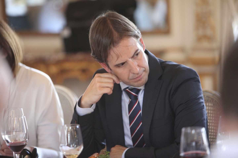 Cristiano Brown, portavoz nacional de UPyD, en un acto en abril de 2018.