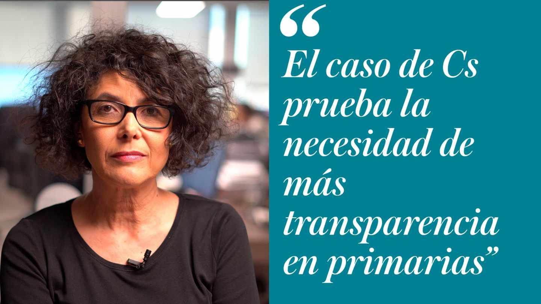 Cristina de la Hoz sobre las primarias de Ciudadanos
