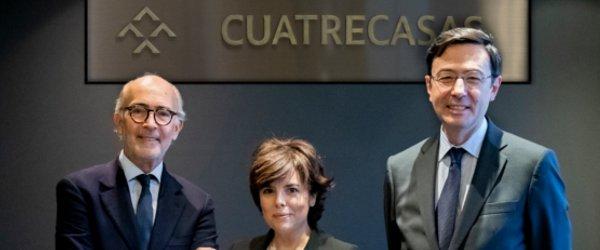 Soraya Sáenz de Santamaría se incorpora a Cuatrecasas.