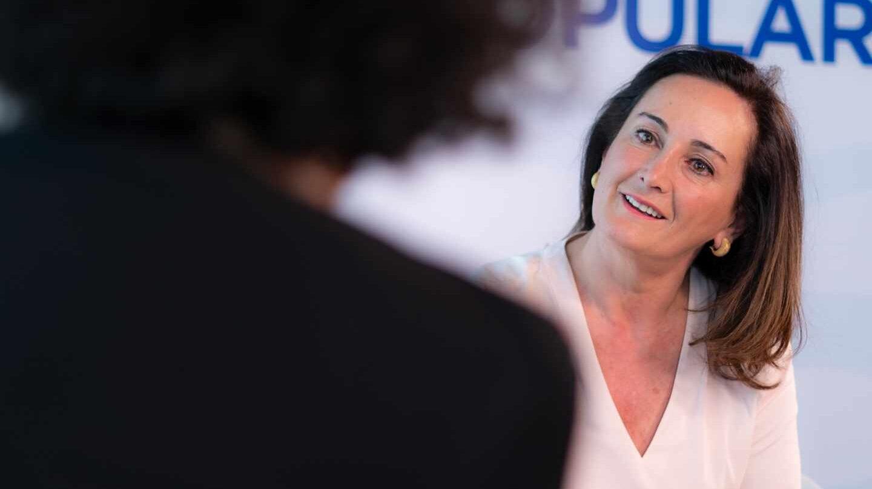Edurne Uriarte (PP), entrevistada por Cristina de la Hoz