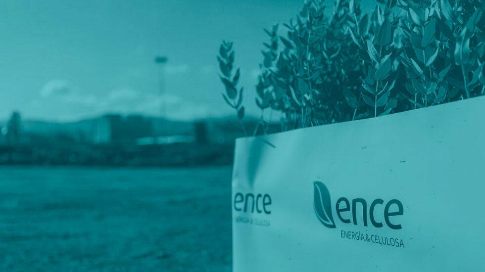 Logotipo de Ence.