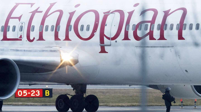 Un avión de la aerolínea Ethiopian Airlines.
