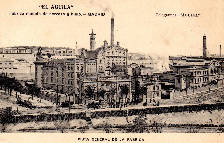Antigua fábrica de Cervezas El Águila de Delicias