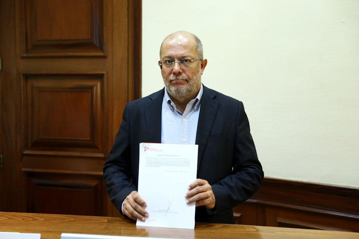 El diputado de Ciudadanos en el Congreso de los Diputados, Francisco Igea