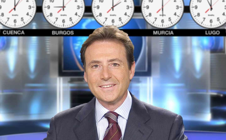 En la TV estadounidense solía ser típico ver a los presentadores frente a los relojes con las distintas horas del país. ¿Y si esto pasase en España?