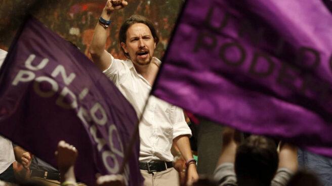 Pablo Iglesias, en un acto de Podemos.