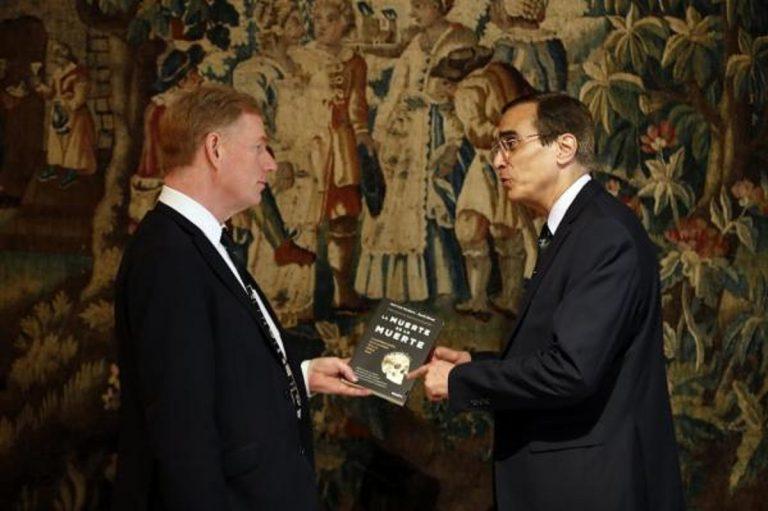 José Luis Cordeiro y David Wood, coautores de 'La muerte de la muerte'.