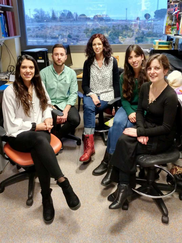El equipo de Neuropatología de María Llorens