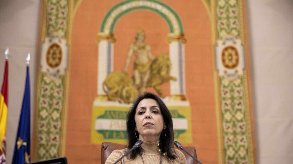 La presidenta del Parlamento de Andalucía y ganadora de las primarias de Ciudadanos en Almería, Marta Bosquet.