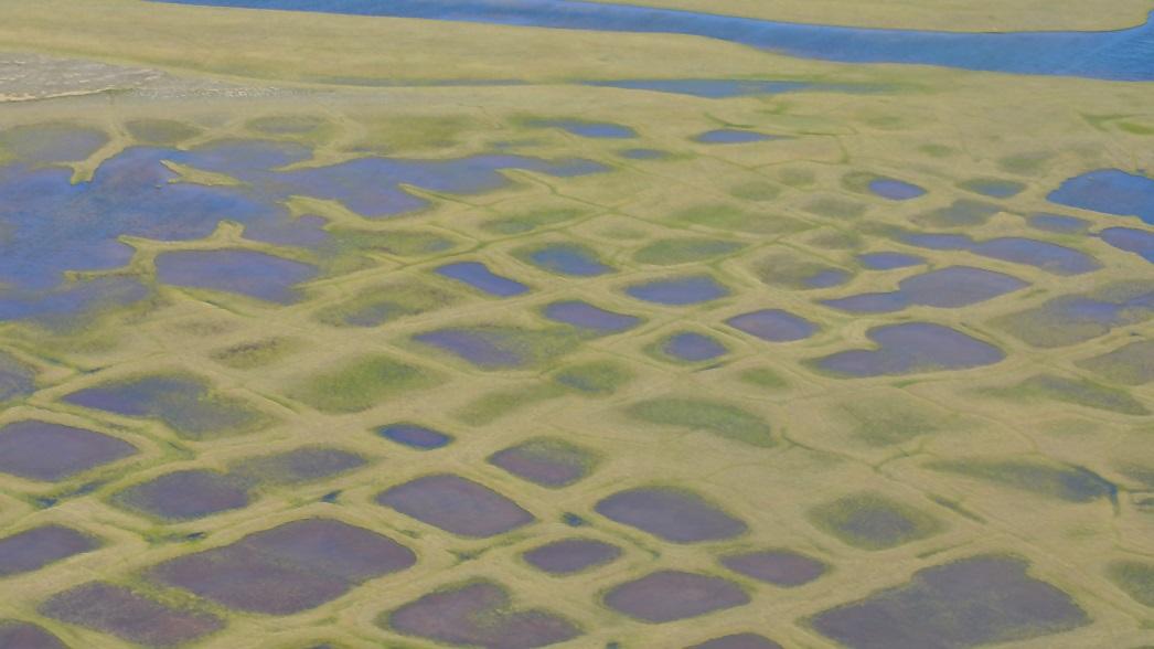 Deshielo del permafrost en Alaska.