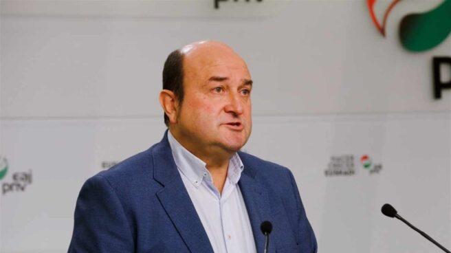 El líder del PNV, Andoni Ortuzar.