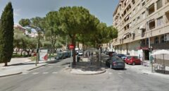 Calle Parque del Oeste, en Castellón.