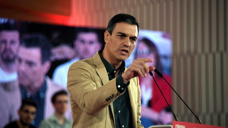 Pedro Sánchez, este sábado en Córdoba.