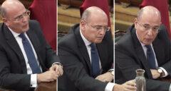 Diego Pérez de los Cobos, durante su declaración en el Tribunal Supremo.