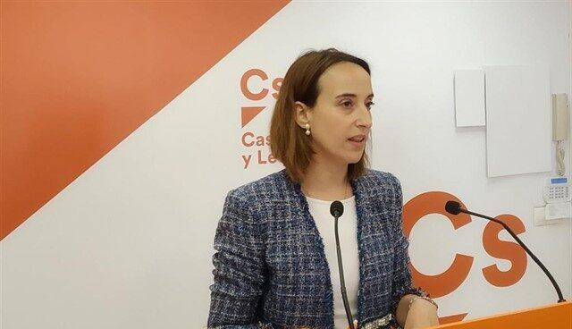 La ex candidata de Ciudadanos a la alcaldía de Valladolid, Pilar Vicente.
