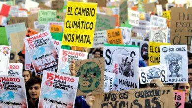 La juventud de todo el mundo ruge contra el cambio climático