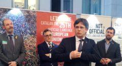 Carles Puigdemont, en la Eurocámara.