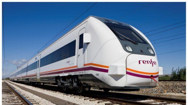 Un tren de Renfe.