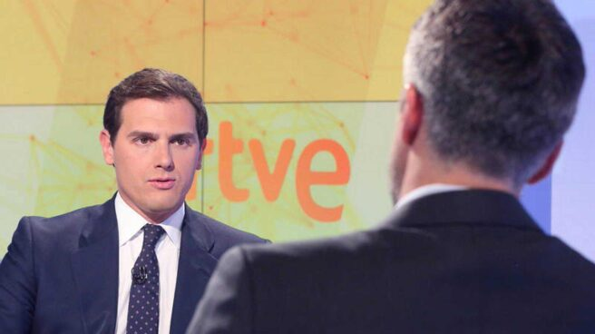 Albert Rivera, en RTVE.