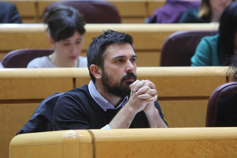 Ramón Espinar, ex secretario general de Podemos en la Comunidad de Madrid.