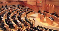 Imagen del hemiciclo del Senado