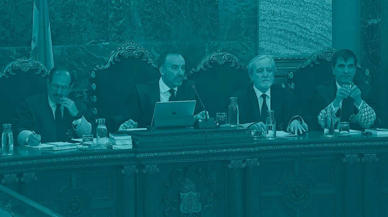El tribunal que juzga el 'procés'.