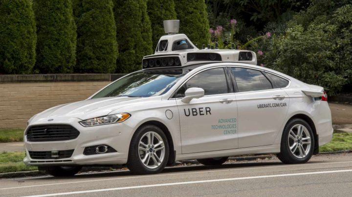 Vehículo de Uber.