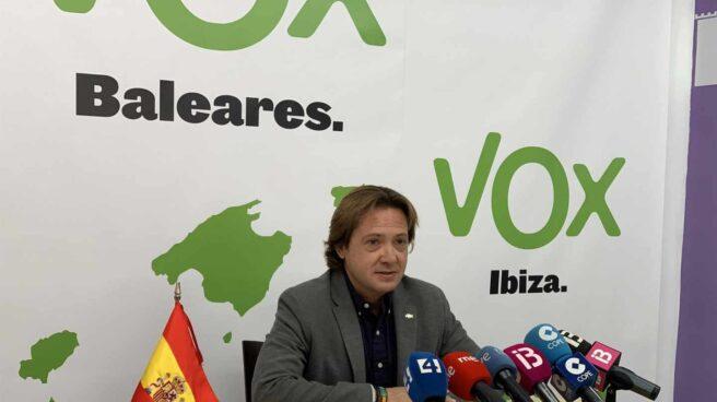 Rueda de prensa en Vox Baleares.