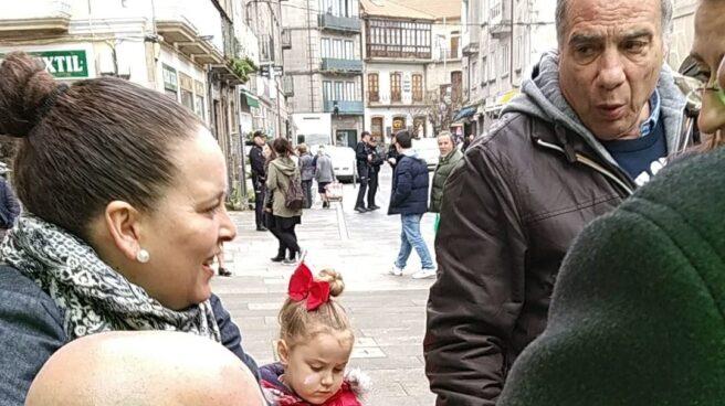 El coordinador de Vox en Pontevedra, Juan Manuel Rosales, que ha sufrido una agresión.