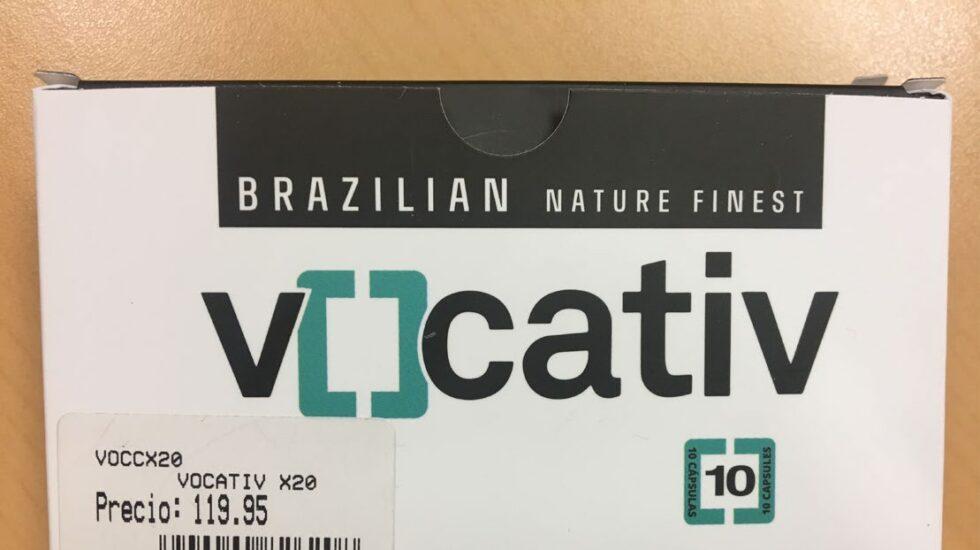 Vocativ, el complemento nutricional retirado por contener el principio activo de la viagra.