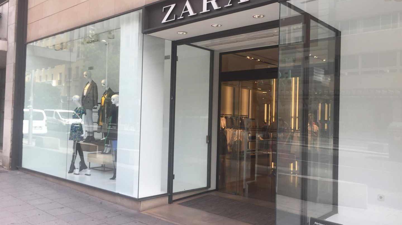 Tienda de la marca de moda de Zara.