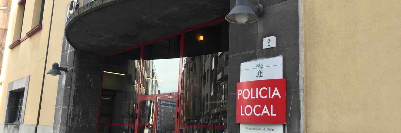 Policía Local de Gijón.