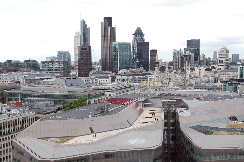 Distrito financiero de Londres.